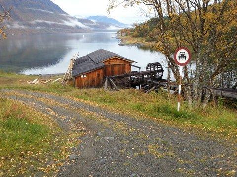 Aursfjordsaga fra veien
