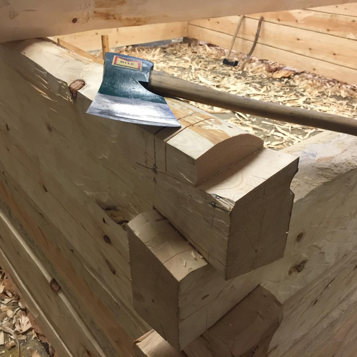 Tømring i Sundlia