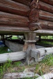 Detalj av stabbe, fotografert førre sommar. Foto: Roald Renmælmo