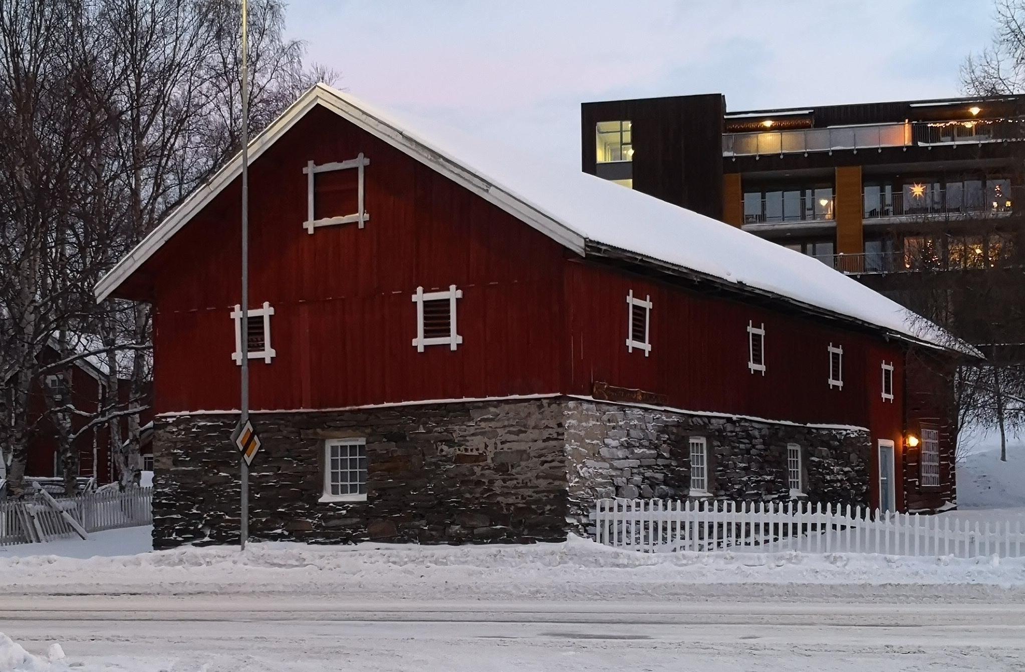 Fjøsbygningen på Ramsmoen, Tynset