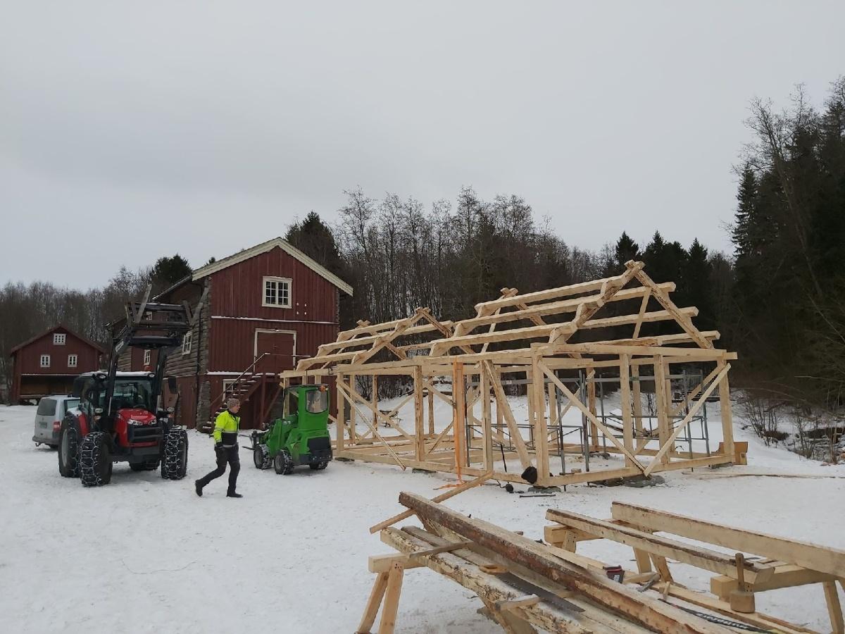 Stavbygg på Stiklestad