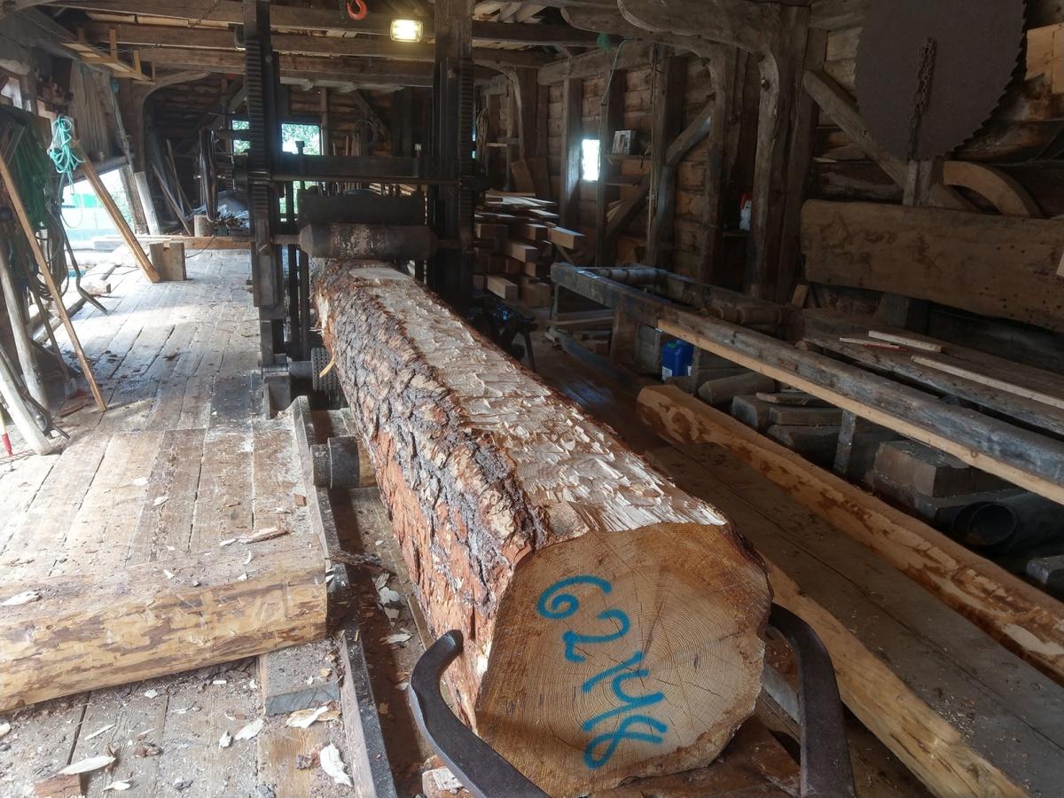Nytt lagerbygg til oppgangssaga iHerand